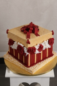 Cakes Wedding rossa 3