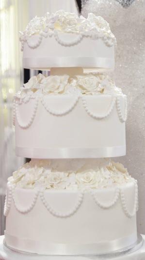 Mariage Montecarlo Wedding Cake Luxury 1
