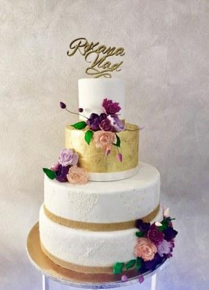 Wedding cake design Il Gufo Bianco