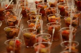 Antipasto al bicchiere - catering