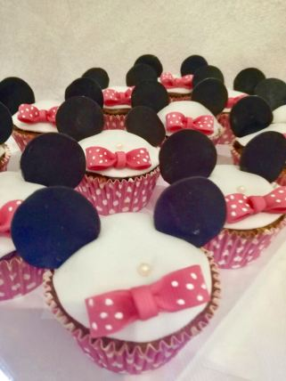 Cupcakes Minnie - baby and kids