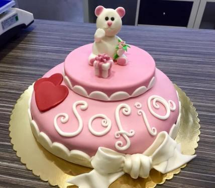 Torta Rosa - baby and kids