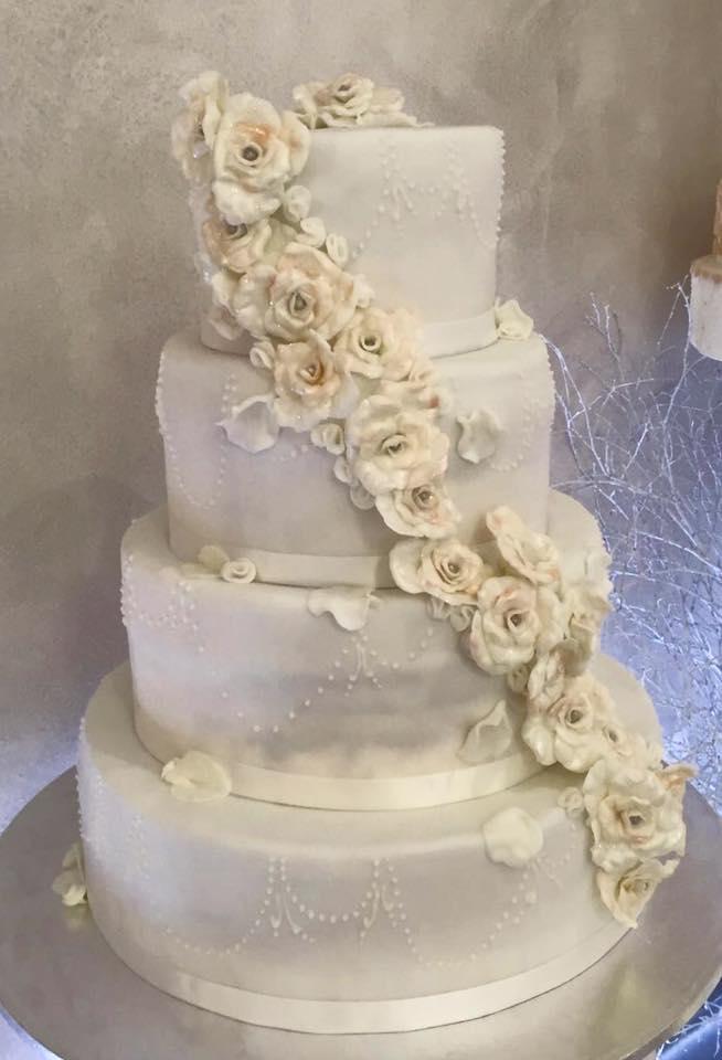Wedding Cake Carmagnola Torino Torta Nuziale Torta
