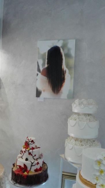 cake design e fotografie di matrimonio nel nostro showroom